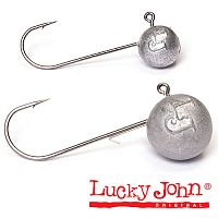 Джиг-головка Lucky John MJ ROUND HEAD 05.0г крючок 002 5шт.