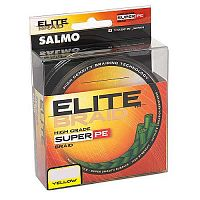 Леска плетёная Salmo ELITE BRAID Yellow 091/033