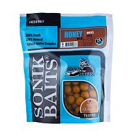 Бойлы тонущие Sonik Baits HONEY 20мм 0,75кг (Мед)