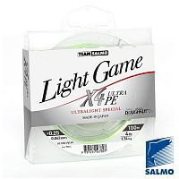 Леска плетёная Team Salmo LIGHT GAME Fine Green X4 100/004